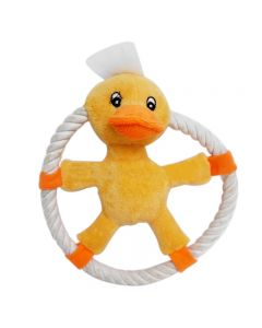 PET BRANDS Rope Ring Plush Toy