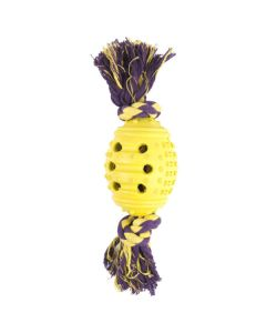 PET BRANDS Rope & Rubber Ball Dog Toy