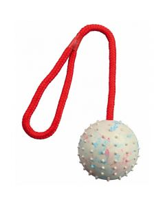 PET BRANDS Rubber Loop & Rope Ball