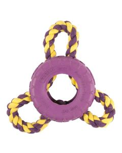 PET BRANDS Rubber Tyre & Three Way Rope