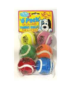 PET BRANDS Tennis Ball 6 Pack
