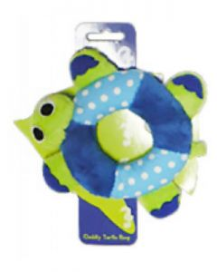 PET BRANDS Turtle Ring Plush Toy