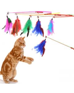 PET BRANDS Feather Dangler Toy