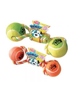 PET BRANDS Wow Tennis Ball Dumbbell Jumbo