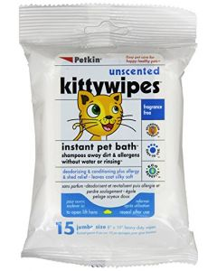 PETKIN Kittywipes 15 Count