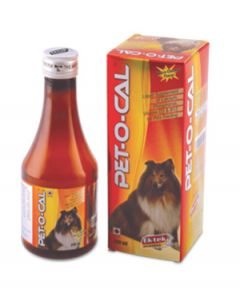 All4Pets Pet-O-Cal Calcium Syrup for Dogs and Cats 450 ml