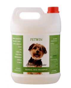 PETWIN Pw Herbal Aloe Vera Shampoo 5 Ltr