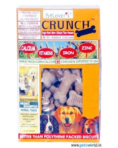 Pet Lovers Crunch Chicken & Milk Flavor Biscuits 900 gms