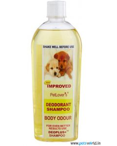 Pet Lovers Deodorant Dog Shampoo 500 ml