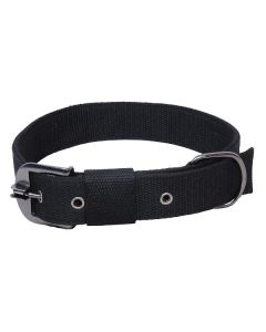 Pets Like Polyster Collar Black 38 mm Extra Large