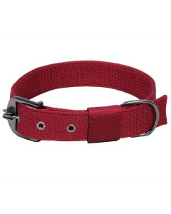 Pets Like Polyster Collar Maroon 32 mm Large