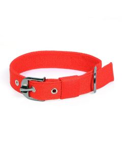 Pets Like Polyster Collar Red 32 mm Large
