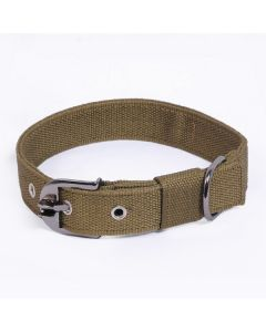 Pets Like Polyster Collar Army Green 32 mm Large