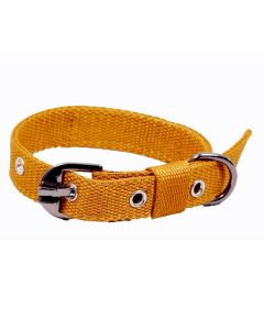 Pets Like Polyster Collar Gold 20 mm Small/Puppy