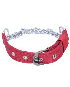 Pets Like Polyster Choke Collar Maroon Large 32 mm