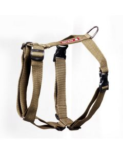 Pets Like Polyster Full Harness Olive Green Large
