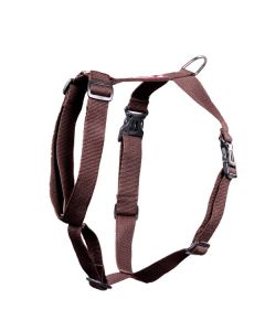 Pets Like Polyster Full Harness Brown Large