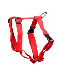 Pets Like Polyster Full Harness Red Medium