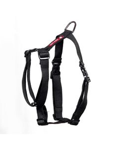 Pets Like Polyster Full Harness Black Medium