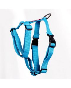 Pets Like Polyster Full Harness Sky Blue Small