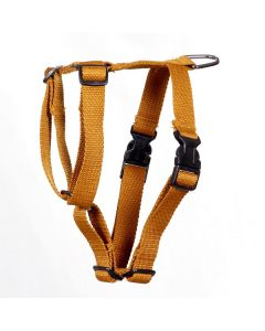 Pets Like Polyster Full Harness Gold Small