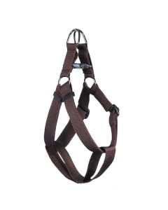 Pets Like Polyster Regular Harness Brown Large