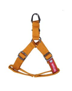 Pets Like Polyster Regular Harness Gold Small