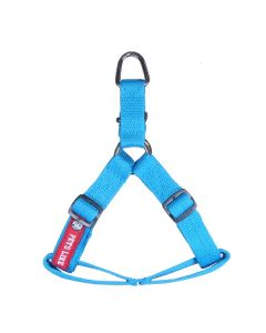 Pets Like Polyster Regular Harness Sky Blue Small