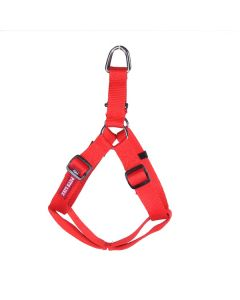 Pets Like Polyster Regular Harness Red Medium