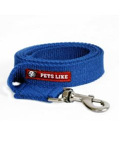 Pets Like Spun Polyster Leash Navy Blue Large 25 mm