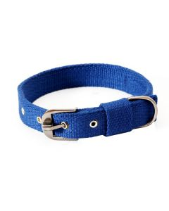 Pets Like Spun Polyster Collar Navy Blue 32 mm Large