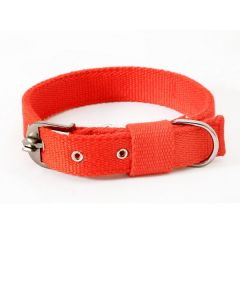 Pets Like Spun Polyster Collar Red 32 mm Large