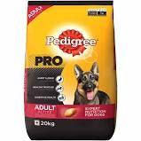 Pedigree PRO Expert Nutrition Active Adult Dogs (18 Months Onwards) Dry Dog Food Food, 20kg Pack