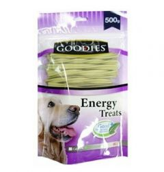 Goodies Dog Treats  Chlorophyll Triple Typed Twisted 500 gms