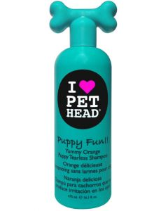 Pet Head Puppy Fun Yummy Orange Puppy Tearless Shampoo 475 ml
