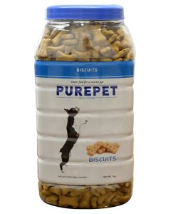 DROOLS PurePet Biscuit 500gm Milk Flavour Small