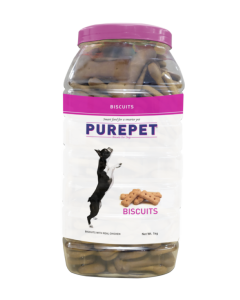 DROOLS PurePet Biscuit 500gm Mutton Flavour-JAR
