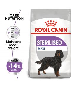Royal Canin Sterilised Maxi Dog Food 3 Kg