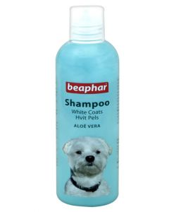 Beaphar Aloe Vera Dog Shampoo For White Coats 250 ml
