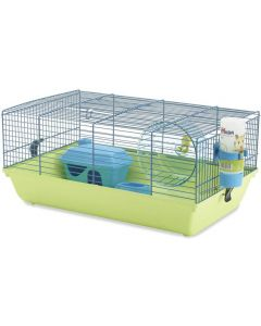 SAVIC Martha Single Hamster & Guinea Pigs Cage 8 Inch