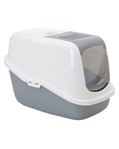SAVIC Nestor Cat Toilet White Cold Grey