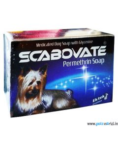 All4Pets Scabovate Anti Tick and Flea Dog Soap 75 gms