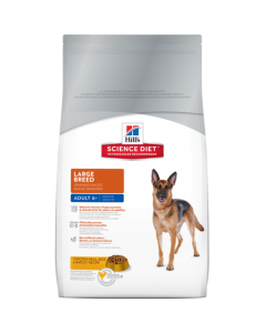 Hills Science Diet Canine Adult 6+ Large Breed Dog Food 15 Kg