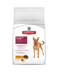 Hill's Science Diet Adult Advance Fitness Chicken and Barley Recipe Dog Food 4 Kgs