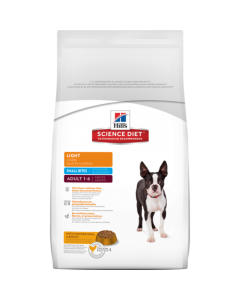 Hill's Science Diet Adult Light Small Bites Dog Food 2 Kgs