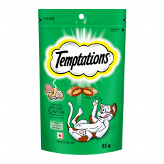 Temptations Cat Treat, Seafood Medley Flavour - 85 gm