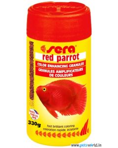 Sera Red Parrot Speciality Fish Food 330 gms