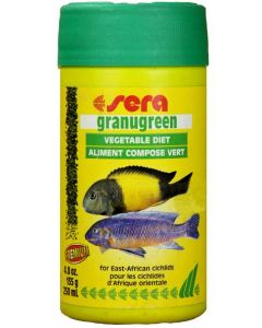 Sera Granugreen For Algae Eating Fish 135 gms