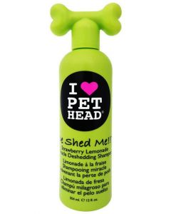 Pet Head De Shed Me Strawberry Lemonade Miracle Deshedding Dog Shampoo 354 ml