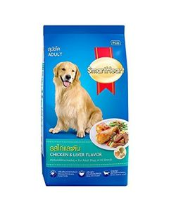 Smartheart Adult Dog Food Chicken and Liver flavour 3 Kg
